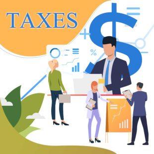 أنواع الضرائب وكيفية حسابها